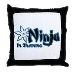 Training Ninja Throw Pillow