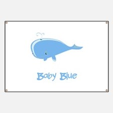 Baby Blue Whale Banner