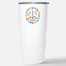 Peace Love Gerbils Travel Mug