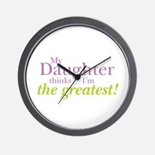 My Daughter Wall Clock