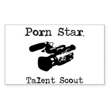 Porn Star Talent Scout Decal