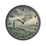 Peggy's Cove Lighthouse Wall Clock