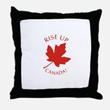 Rise Up Canada! Throw Pillow