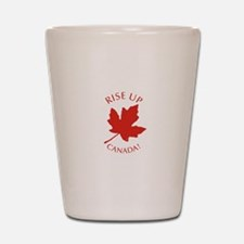 Rise Up Canada! Shot Glass