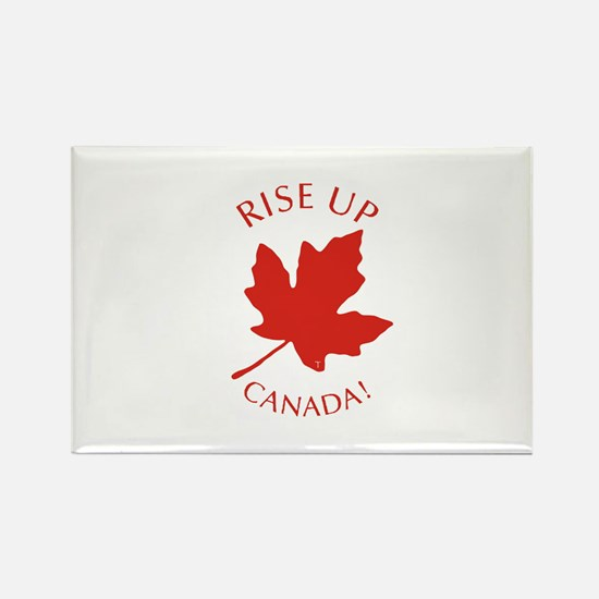 Rise Up Canada! Rectangle Magnet