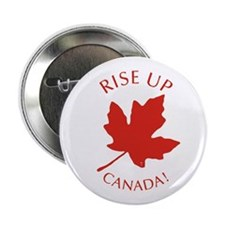 """Rise Up Canada! 2.25"""" Button"""