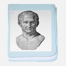 """""""Marcus Tullius Cicero"""" baby blanket"""