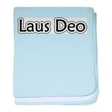 """""""Laus Deo"""" baby blanket"""