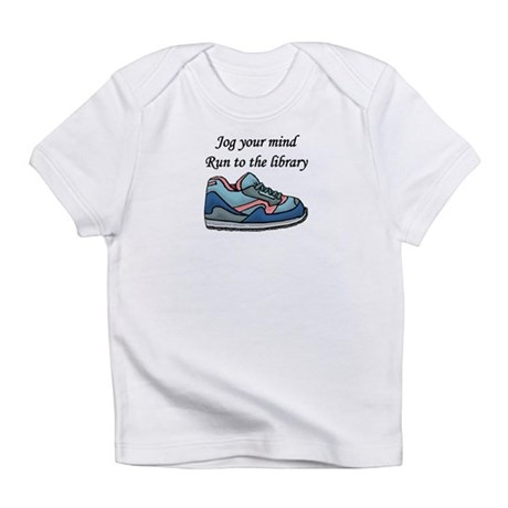 """Jog Your Mind"" Infant T-Shirt"