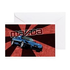 Cool Rx7 Greeting Card
