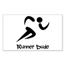 Runner Dude Decal