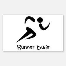 Runner Dude Decal
