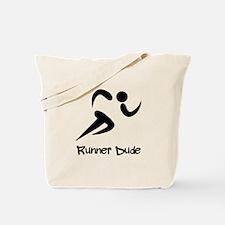 Runner Dude Tote Bag
