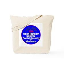 Social Security Tote Bag
