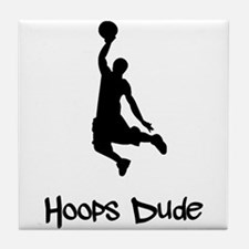 Hoops Dude Tile Coaster