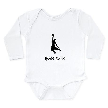 Hoops Dude Long Sleeve Infant Bodysuit