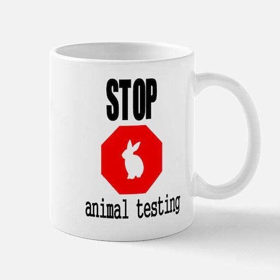 Stop Animal Testing Mug