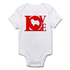 Rough Collie Infant Creeper