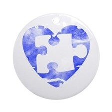 MY MISSING PIECE Ornament (Round)