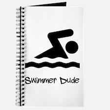 Swimmer Dude Journal