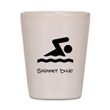 Swimmer Dude Shot Glass