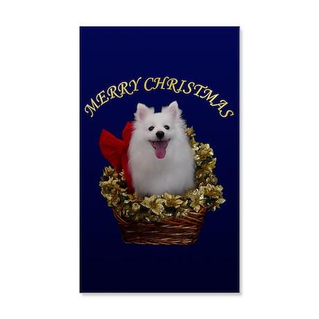 American Eskimo Dog 38.5 x 24.5 Wall Peel