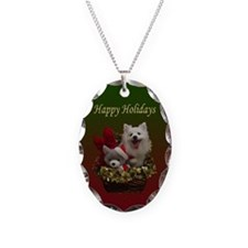 American Eskimo Dog Necklace