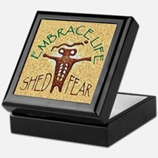 """EMBRACE LIFE, SHED FEAR"" Keepsake Box"