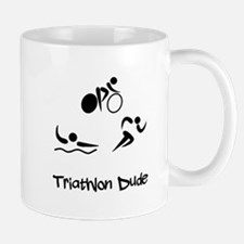 Triathlon Dude Mug