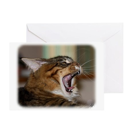 Maine Coon 9Y648D-003 Greeting Card