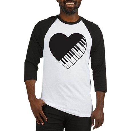 Piano Heart Baseball Jersey