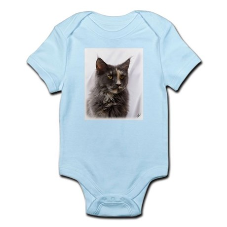 Maine Coon Cat 9Y825D-012 Infant Bodysuit