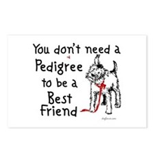 No Pedigree Needed Postcards (Package of 8)