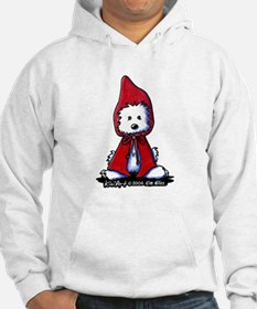 Red Riding Hood Westie Hoodie
