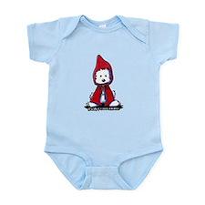 Red Riding Hood Westie Infant Bodysuit