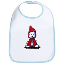 Red Riding Hood Westie Bib