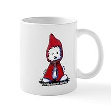 Red Riding Hood Westie Mug