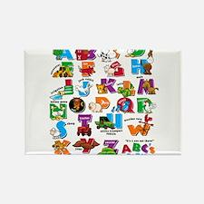 ABC Farm Rectangle Magnet