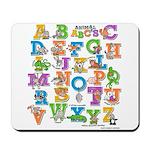 ABC Animals Mousepad