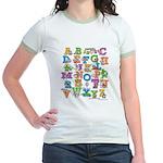 ABC Animals Jr. Ringer T-Shirt
