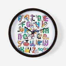 ABC Tools Wall Clock