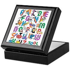 ABC Tools Keepsake Box