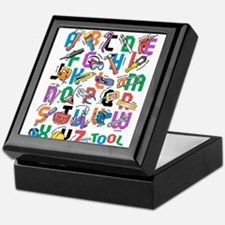 ABC Tools Keepsake Box
