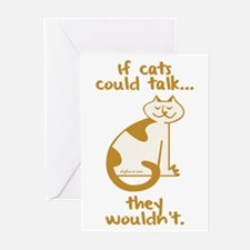 If Cats Could Talk Greeting Cards (Pk of 10)