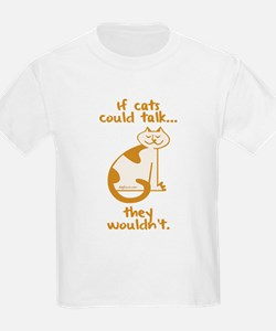 If Cats Could Talk Kids T-Shirt