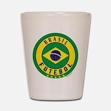 Brasil Futebol/Brazil Soccer Shot Glass