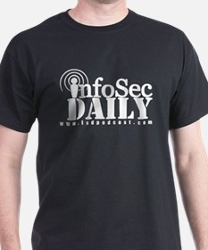 infoSec Daily - BW LARGE 300 T-Shirt