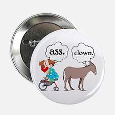 Ass Clown Button