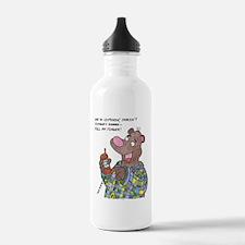 PullMyFinger Water Bottle