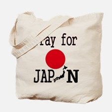 Pray for Japan Tote Bag